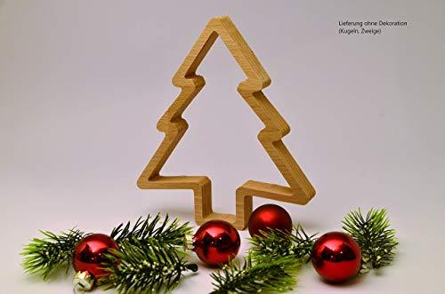 Tannenbaum aus Holz im Natur-Look | Deko | Weihnachten