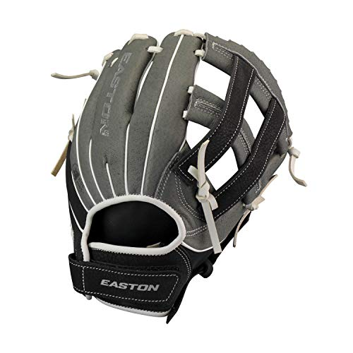 EASTON GHOST FLEX YOUTH Fastpitch Softball Glove | 2020 | Left-Hand Throw | Female Athlete Design | 10.5' | All Position Glove | H Web | Ultra Soft Leather | Super Soft Palm For Comfort | GF1050Y
