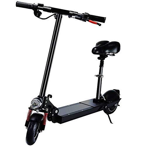 XMIMI Elektroroller Adult Folding Electric Fahrrad Lithium-Batterie Auto Shock Pedal Auto Scooter Elektroauto Verbesserte Version mit Sitz Set