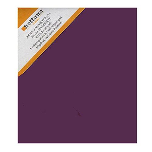 Bellana Kinder Jersey Spannbettlaken 60 - 70 x 120 - 140 cm Farbe: violett