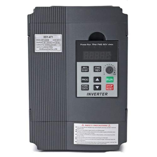 Generic AT1-1500S Single-Phase Inverter 1.5KW 220V Single-in Three-Out Inverter Governor