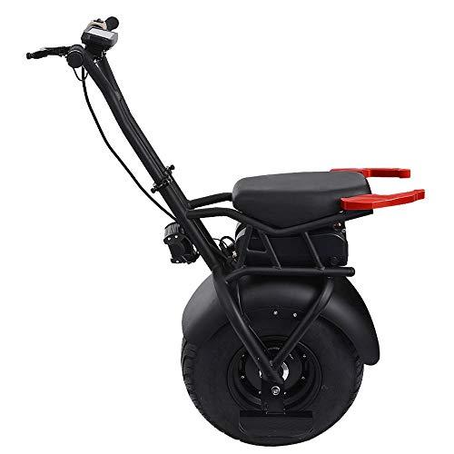 Monociclo Scooter Eléctrico Monociclo Eléctrico De La Motocicleta Vespa 1000W Una Rueda Autobalanceo Scooters Vespa 60V Eléctrico Monociclo For Adultos con Asiento 2020