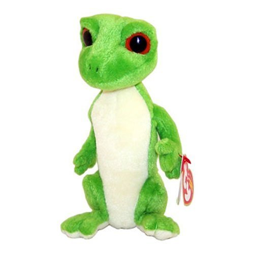 TY Beanie Baby - GUS the Gecko (Red Eyes Version) (7 inch) by Beanie Babies