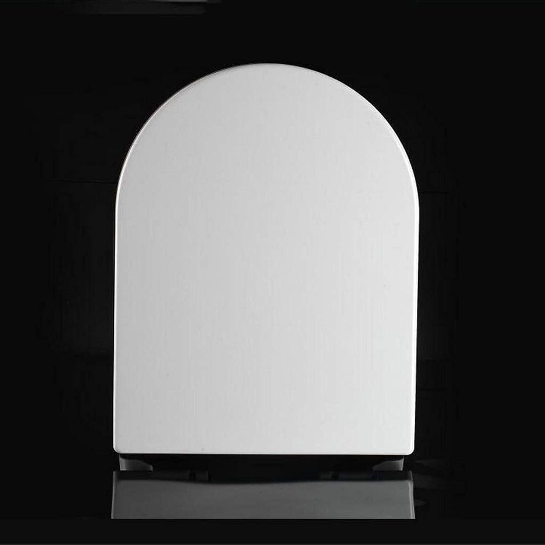 WLDSH WC-Deckel Old Fashioned U-Type-One-Sekunden-Demontage mit langsam schlieendem Stummschalten verdicken den Toilettendeckel (Größe   W36)