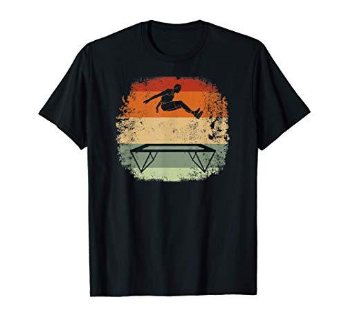 Trampolin fitness Gymnaste gymnastique Vintage Trampoline T-Shirt
