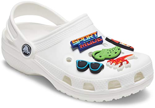 Crocs Jibbitz Shoe Charm 5-Pack, Sport Mode 5 Pack, Small