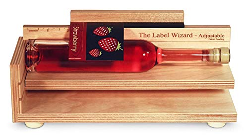 Flaschen etikettieren Flaschenetikettierer Dosen Etiketten selbstklebend Etikettierer - Labels sauber und sicher aufbringen LABELING WIZARD