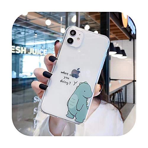 Funda de silicona para teléfono Huawei P40 P40PRO P30 P20 Pro P10 Mate 30 20 Honor 20 9X Cute Couple Phone Cover 1-For Mate 10 Pro