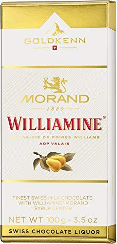 puissant Morand Williamlin Liqueur 100g Barre de chocolat suisse GOLDKENN