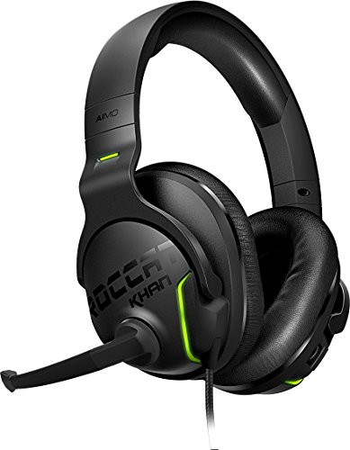 ROCCAT Khan AIMO - 7.1 Surround Gaming Headset, Hi-Res Sound, USB, AIMO...