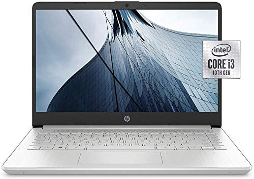"HP 14"" FHD IPS WLED-Backlit Laptop, 10th Gen Intel Core i3-1005G1 up to 3.4GHz, 8GB DDR4, 256GB PCIe NVMe SSD, 802.11ac, Bluetooth, Backlit Keyboard, HD Webcam, HD Audio, USB 3.1-C, HDMI, Windows 10 WeeklyReviewer"
