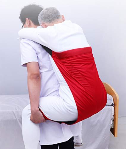 FEIGER Spezielle Erwachsener Alterstransferband, Umstellriemen Paralysis Pflegebedarf, Träger für Patienten nach Oben und unten Treppen