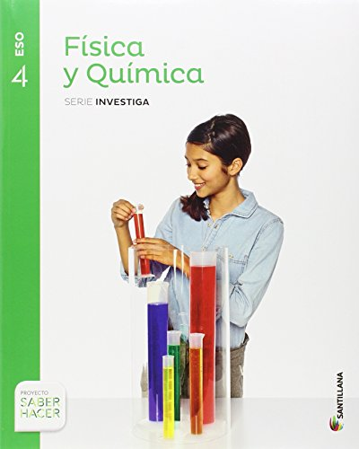 FISICA Y QUIMICA SERIE INVESTIGA 4 ESO SABER HACER - 9788468037905