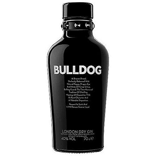 Bulldog London Dry Gin 70cl (paquete de 6 x 70 cl)