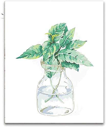 KELDOG® Vaaspuzzels Groene planten Bloemen Houten puzzel, Volwassenen 1000 Stuks Casual Legpuzzels Speelgoed, Geweldige gezinsactiviteit Decoratief schilderen Hd