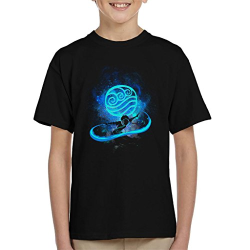 Avatar The Last Airbender Katara Silhouette Kid's T-Shirt
