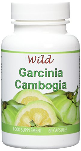 WILD ESSENTIALS Natural Garcinia Cambogia Super High Strength Slim Pills 1000mg. Pure Wholefruit Formula Garcinia Trim Biofit. 60 Capsules is One Months Supply. Proudly Manufactured In the UK.