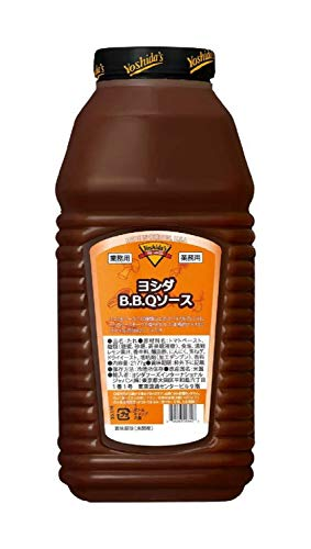ヨシダフーズ BBQソース ハーフガロン 2177g