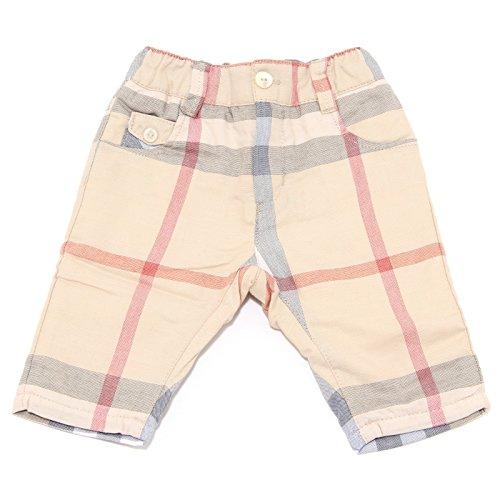 BURBERRY 7243T Pantalone Bimbo Baby Full Check for Winter Trouser Pant Kid [01 Months]