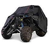 NICECNC UTV Cover with Heavy Duty Black Oxford Waterproof Material Compatible con Polaris RZR XP 1000 900 XP Turbo