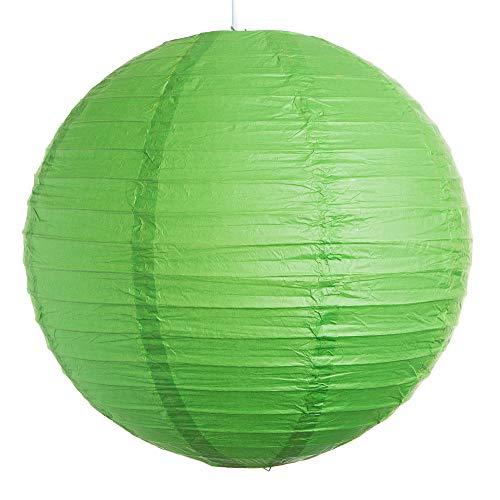 weddix Runde, grüne Laternen-Hängedeko - Einheitsgröße