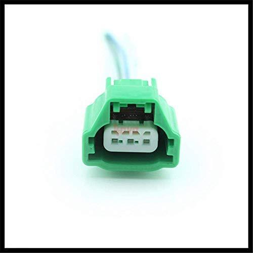 Pigtail Crankshaft Camshaft Position Sensor Connector Plug Harness 3-Pin for Nissan Infiniti Mazda Mitsubishi Replace 23731-4M50B