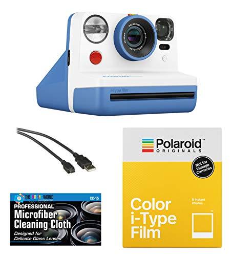 Polaroid Originals OneStep2 VF Cámara de película instantánea (Coral) + Paquete de película + paño de Microfibra