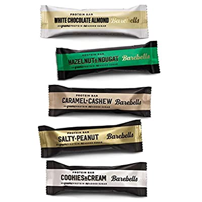 Barebells Protein Bar - Mixed Selection Bundle (12 x 55G) (Mix Bars of Each Flavour) by BAREBELS
