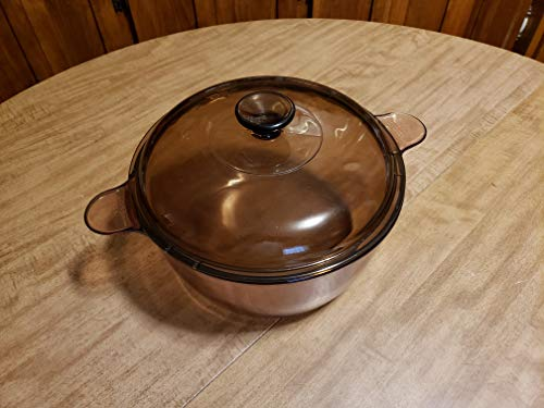 Corning Vision Visions 4.5 L Round Dutch Oven with Lid