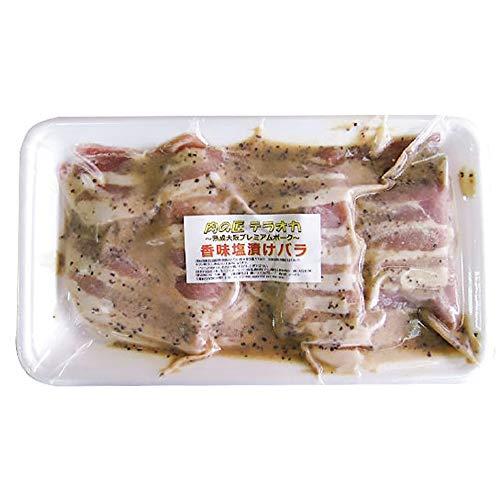 大阪プレミアムポーク香味塩バラ350g×4P 肉の匠テラオカ 秘伝のタレに漬け込んだアミノ酸たっぷりの香味塩漬けバラ 絶品の豚肉