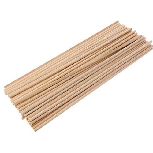 50pcs Jardín Planta Crece La Planta De Bambú De Madera Bastones De Apoyo Jardín De Los Bastones De Plantas De Flor Soporte Palo Cane