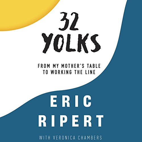 32 Yolks audiobook cover art
