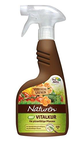 Naturen Bio Vitalkur Anwendungsfertiges Pflanzenstärkungsmittel für pilzanfällige Pflanzen, 500 ml Sprühflasche