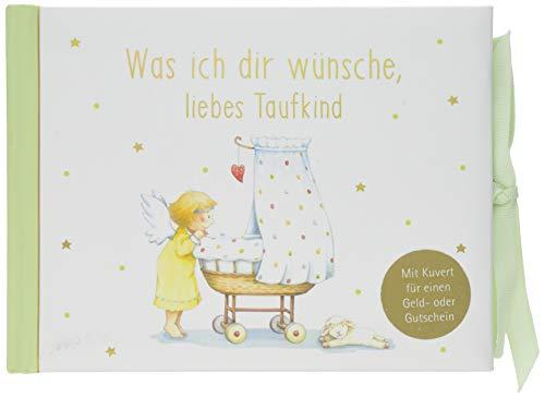 Geldkuvert-Geschenkbuch - Was ich dir wünsche, liebes Taufkind