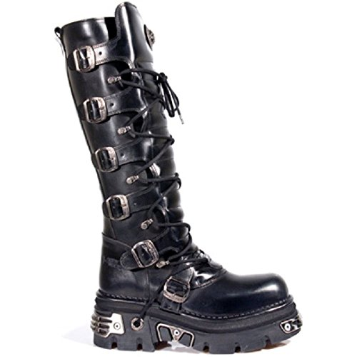 New Rock Damenstiefel Metal Rock Punk Emo Design Reißverschluss