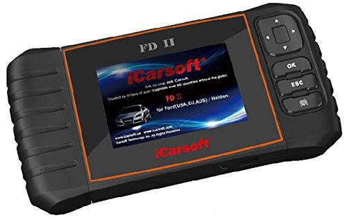 iCarsoft New Version FDII for Ford Holden OBD2 Diagnostic Scanner Tool Erase Fault Codes Service Reset Best #1
