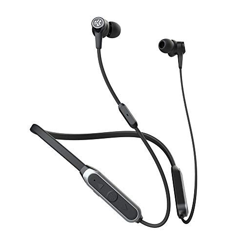 JLab Audio Epic ANC Earbuds | Active Noise Canceling | Be Aware Audio | Bluetooth 5 | 25+ Hour Battery Life | IP54 Sweat Resistant | Universal Music Control | Bluetooth Headphones | Black