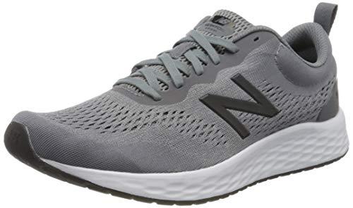 New Balance Men's Fresh Foam Arishi V3 Running Shoe, Gunmetal/Steel, 10.5