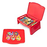 Paw Patrol Kids Lap Desk with Storage - Folding Lid and Collapsible Design - Portable for Travel or use in Bed at Home - Great for Writing, Reading or Other School Activities