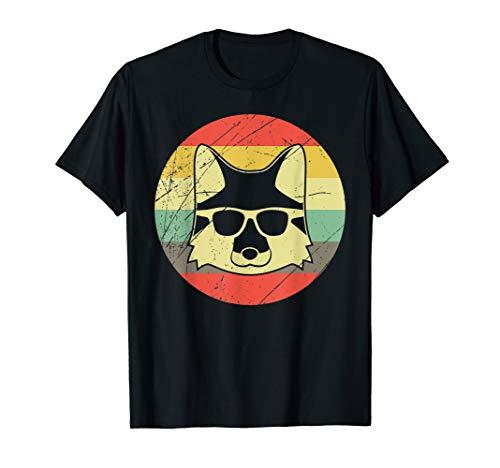Fuchs Retro Vintage Füchse Fuchsfreunde Cooler Fuchs Design T-Shirt