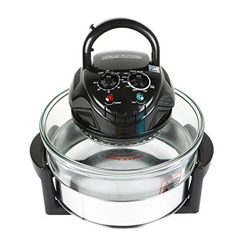 Infrared Halogen Convection Oven 12 Quart 1300W Air Fryer Oven Healthy Meals Great For Chicken...