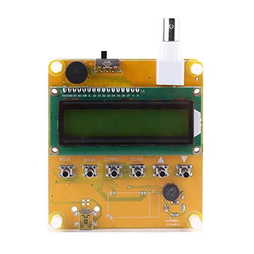Kortegolfantenne-analysator, DC12V-kortegolfantenne-analysator Metertester 1-60 MHz Q9 hoofd digitaal LCD-scherm