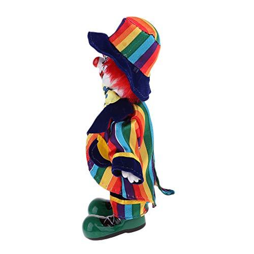 Baoblaze 18 cm Halloween Clown Puppen Clownmann Minipuppe Dekofigur, kreative Geschenke für Kinder und Erwachsene - # 6
