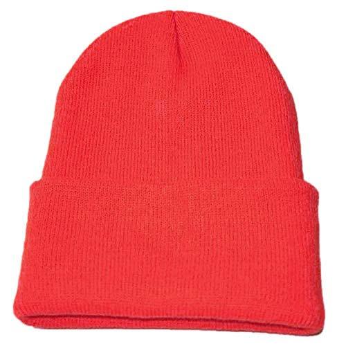 Zottom Unisex Slouchy Strickmütze Hip Hop Cap Warme Winter-Ski-Mütze