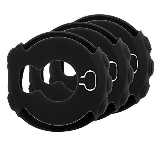 MWOOT 3 Stück Schutzhülle für Garmin Fenix 5X & Garmin Fenix 5X Plus, Hülle aus weichem Silikon (Schwarz)- Nicht für Fenix 5 (Plus)/5S(Plus)
