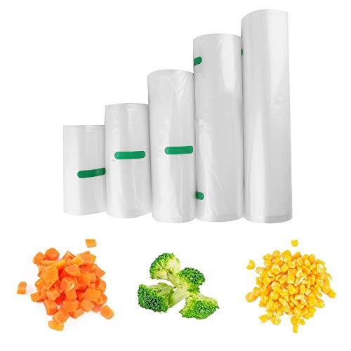 Petyoung Bolsas Selladoras Al Vacío para Alimentos Rollos de 12 * 500 Cm Bolsas Selladoras Al Vacío Bolsa de Almacenamiento Reutilizable Ahorrador de Alimentos