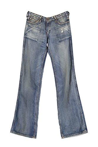 Meltin'Pot 1181 Evil Jeans Denim Donna Blu 25