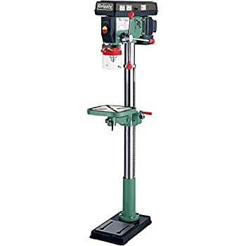 Grizzly G7944 12 Speed Heavy-Duty Floor Drill Press 14-Inch