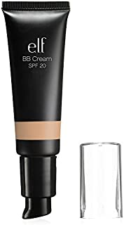 e.l.f. Cosmetics BB Cream, Light Coverage Foundation, UVA/UVB SPF 20 Protection, Nude, 0.96 Fluid Ounces