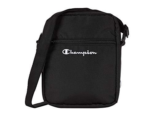 Champion Asher X Shoulder Cross Body Bag, Black, One Size
